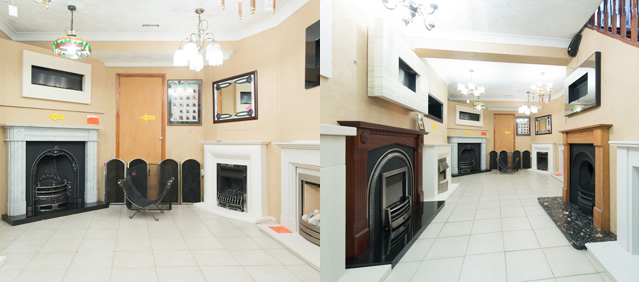 Rochester Fireplaces Kent Showroom